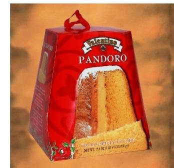 pandoro cake in gift box 500g 5 69 a quality traditional pandoro by ...